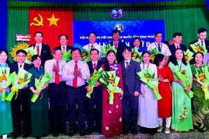 Hội hữu nghị Việt Nam-Hàn Quốc tỉnh Bình Phước: Hỗ trợ ngành giáo dục khoảng 2 tỷ đồng