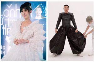 Lynk Lee khoe thềm ngực căng tràn lấp ló; Wowy lên đồ cực dị tại Tuần lễ thời trang
