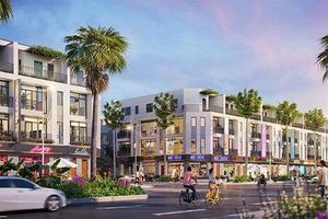 Shophouse 36m mặt đường – Át chủ bài hút vốn đầu tư Kosy City Beat Thai Nguyen