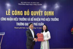 Trường Đại học Phú Xuân có Hiệu trưởng mới