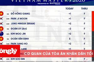 FLC Vietnam Masters: Đỗ Hồng Giang độc chiếm đỉnh bảng