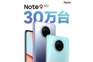 Redmi Note 9 series mới bán được hơn 300.000 chiếc trong vài giờ