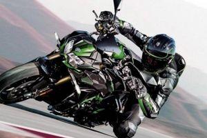 Mô tô Kawasaki Z H2 SE 2021 ra mắt, trang bị hệ thống treo điện tử