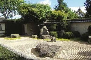 Nghệ thuật mô phỏng trong vườn Thiền