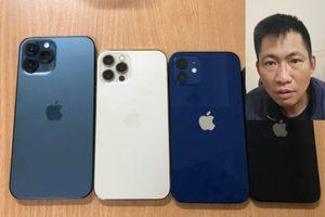 Dùng dao cướp 4 chiếc iPhone 12 ở cửa hàng FPT tại Hà Nội
