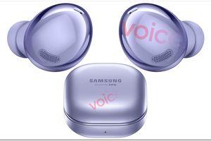 Samsung Galaxy Buds Pro lần đầu lộ ảnh render đẹp mắt