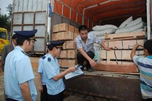 Hải quan bắt giữ 2 container găng tay y tế đã qua sử dụng