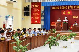Hội nghị Ban Chấp hành Đảng bộ huyện Thoại Sơn