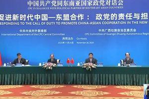 Đảng Cộng sản Trung Quốc lần đầu đối thoại với chính đảng các quốc gia Asean