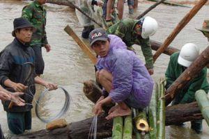 19 cầu treo dân sinh tại Kon Tum bị lũ tàn phá