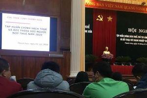 Cục thuế tỉnh Thanh Hóa: Đối thoại với người nộp thuế quý IV/2020