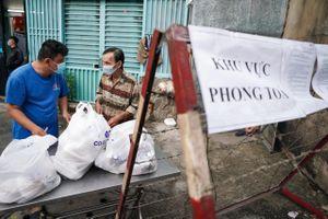 Một khu dân cư tại quận Gò Vấp bị phong tỏa