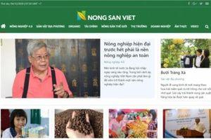 Nông sản Việt - chuyên trang điện tử trong hệ sinh thái của Báo NNVN