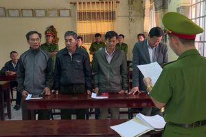 Bắt 4 lãnh đạo cán bộ thuộc công ty lâm nghiệp Ea Kar