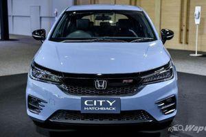 Honda City hatchback 2021 màu xám xi măng gây sốt tại Thái Lan
