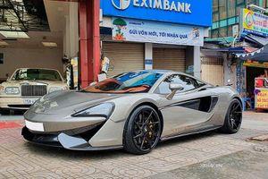 Ngắm siêu xe giá rẻ McLaren 570S - 'tình cũ' Cường Đô la