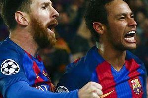 Neymar 'dụ dỗ' Messi gia nhập PSG