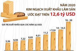 Năm 2020, kim ngạch xuất khẩu lâm sản ước đạt trên 12,6 tỷ USD