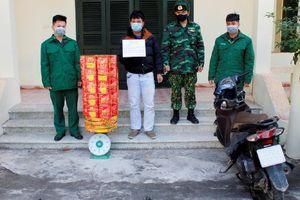 Quảng Ninh thu giữ hơn 50 kg pháo vận chuyển trái phép
