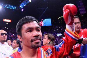 Võ sĩ boxing Pacquiao làm lãnh đạo đảng của tổng thống Philippines