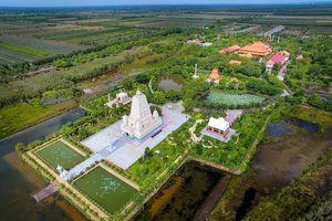 Bốn Thánh tích- Tứ động tâm được phục dựng tại Thiền viện Trúc Lâm Chánh giác
