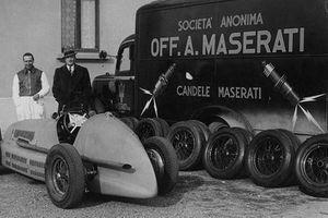 Nhìn lại toàn bộ lịch sử thương hiệu Maserati chỉ với 4 phút