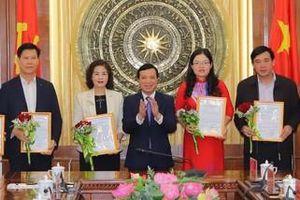 Điều động, bổ nhiệm nhiều chức danh thuộc Ban Thường vụ Tỉnh ủy Thanh Hóa quản lý