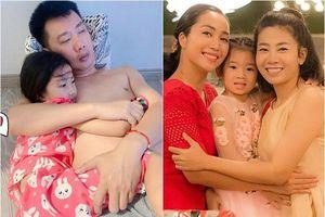 Nhìn con gái Ốc Thanh Vân tình cảm với ba, dân tình bỗng nhớ thương con gái Mai Phương