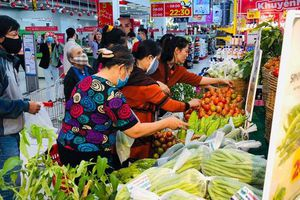 Nông sản của đồng bào dân tộc Ba Na vào siêu thị