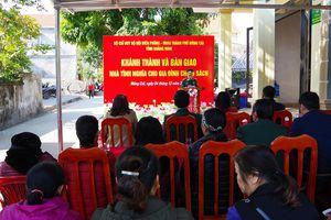 BĐBP tỉnh: Tặng nhà tình nghĩa cho gia đình chính sách