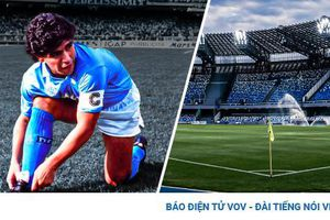 Napoli chính thức đổi tên sân nhà thành Diego Armando Maradona