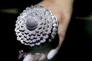 Chiếc nhẫn đính hơn 12.000 viên kim cương lập kỷ lục thế giới