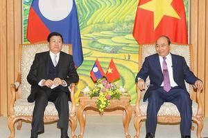 Chùm ảnh: Kỳ họp lần thứ 43 Ủy ban liên Chính phủ Việt Nam-Lào