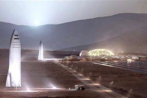 SpaceX có thể đưa người lên sao Hỏa vào năm 2024