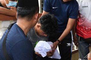Tiền vệ đội tuyển Malaysia gặp tai nạn, con trai 22 ngày tuổi tử vong