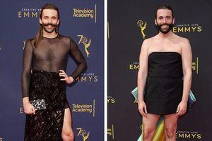 Thời trang trung tính lên ngôi, mỹ nam Hollywood nô nức mặc váy