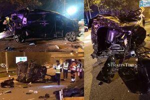 Ngôi sao tuyển Malaysia gây tai nạn kinh hoàng khiến mẹ vợ và con trai 22 ngày tuổi thiệt mạng