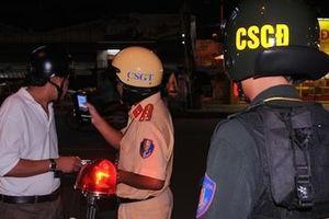 CSGT TP Hồ Chí Minh xử lý 100 trường hợp vi phạm nồng độ cồn mỗi ngày