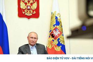 Tổng thống Putin tuyên bố Nga sẽ phát triển ở Bắc Cực