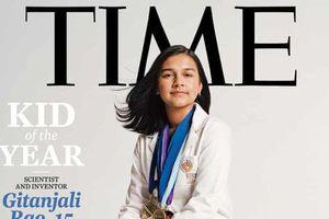 Cô gái 15 tuổi xác định chì trong nước uống và chống bắt cóc trên mạng: Lần đầu tiên được tạp chí Time vinh danh