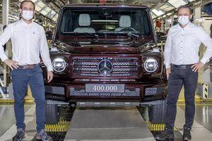 'Ông vua địa hình' Mercedes-Benz G-Class thứ 400.000 xuất xưởng