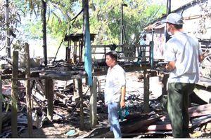 Chập điện gây cháy nhà, một người tử vong