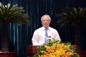 Khai mạc Kỳ họp thứ 23 Hội đồng nhân dân TP Hồ Chí Minh khóa IX