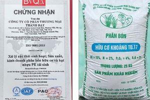 Phân bón hữu cơ TĐ (Thành Đạt) được nhà nông tin dùng