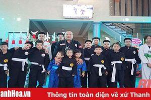 Người góp phần 'giữ lửa' cho phong trào võ thuật khu vực phía Bắc tỉnh Thanh