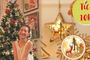 Sao Việt trang hoàng nhà dịp Giáng sinh siêu lung linh, muốn 'đu' theo bạn chỉ cần bỏ ra từ 10k