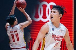 'Đốt cháy' VBA Arena với 8 cú 3 điểm, Võ Kim Bản góp công lớn giúp Saigon Heat bảo vệ thành công chức vô địch