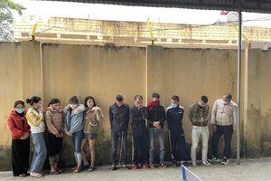 Thanh Hóa bắt giữ 11 đối tượng sử dụng trái phép ma túy tại quán karaoke