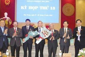 Khánh Hòa bầu bổ sung hai Phó chủ tịch UBND tỉnh