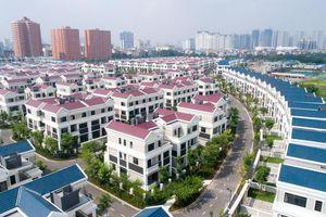 Điều chỉnh giảm căn hộ thấp tầng khu vực trung tâm Khu đô thị Tây Hồ Tây